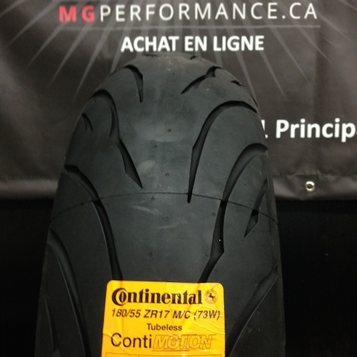 180/55ZR17 CONTINENTAL CONTIMOTION 73W REAR MOTORCYCLE TIRE