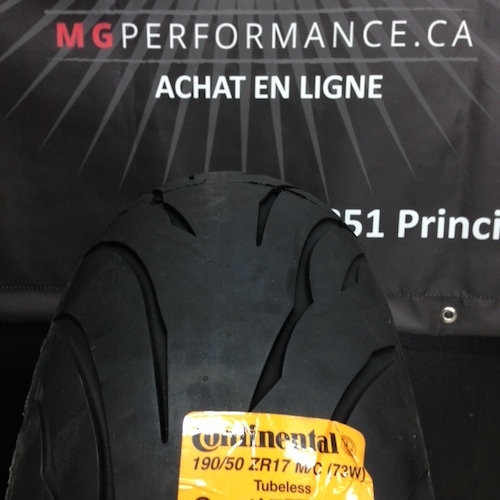 190/50ZR17 CONTINENTAL CONTIMOTION 73W REAR MOTORCYCLE TIRE