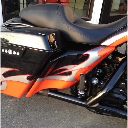 1998 2008 Side Covers Extended Harley Davidson