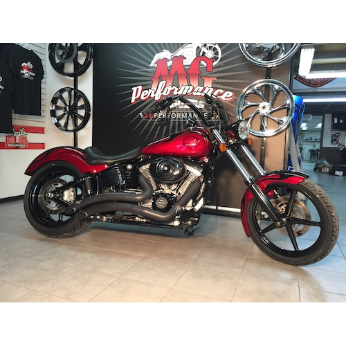 SOLD 2009 HARLEY DAVIDSON ROCKER