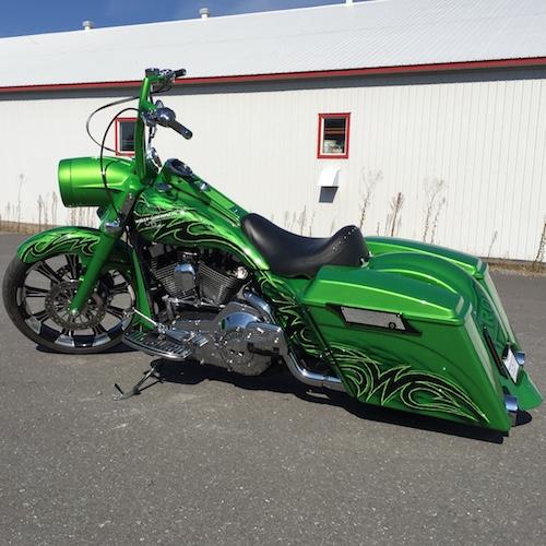 2001 Harley Davidson Road King Flhr Sold Pictures