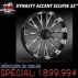 "23"" DYNASTY ACCENT ECLIPSE FRONT WHEEL HARLEY DAVIDSON"