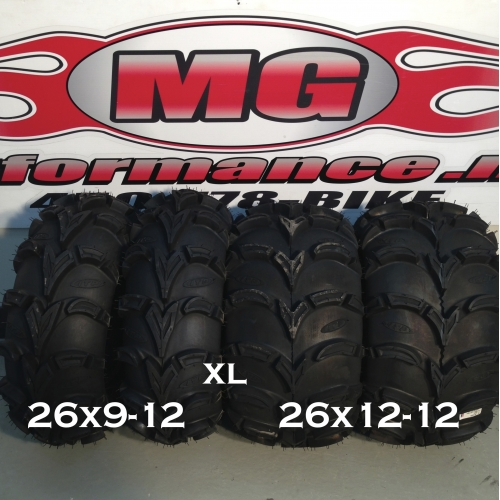 ITP 26x9-12 / 26x12-12 XL MUD LITE 6 PLY ATV TIRE FRONT / REAR